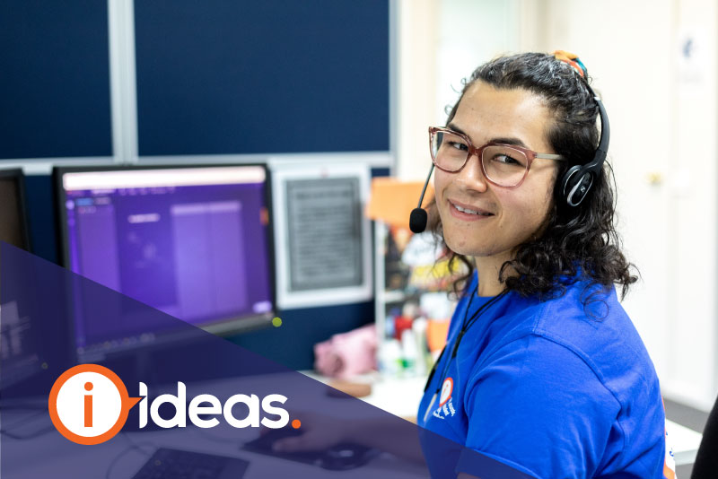 photo of ideas information officer smiling