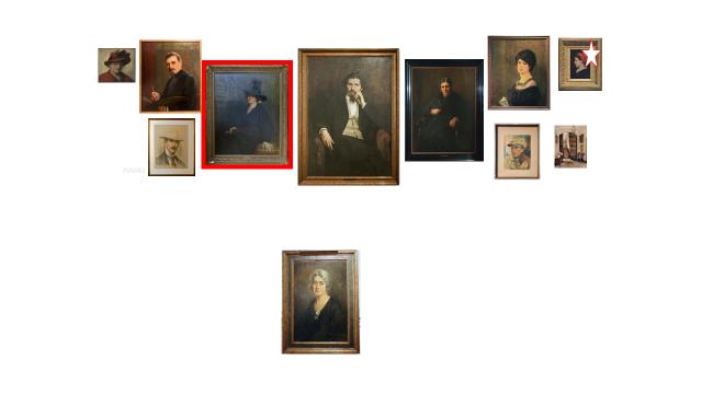 De schilders, de oprichtster van het museum en een inkijk in het familiehuis