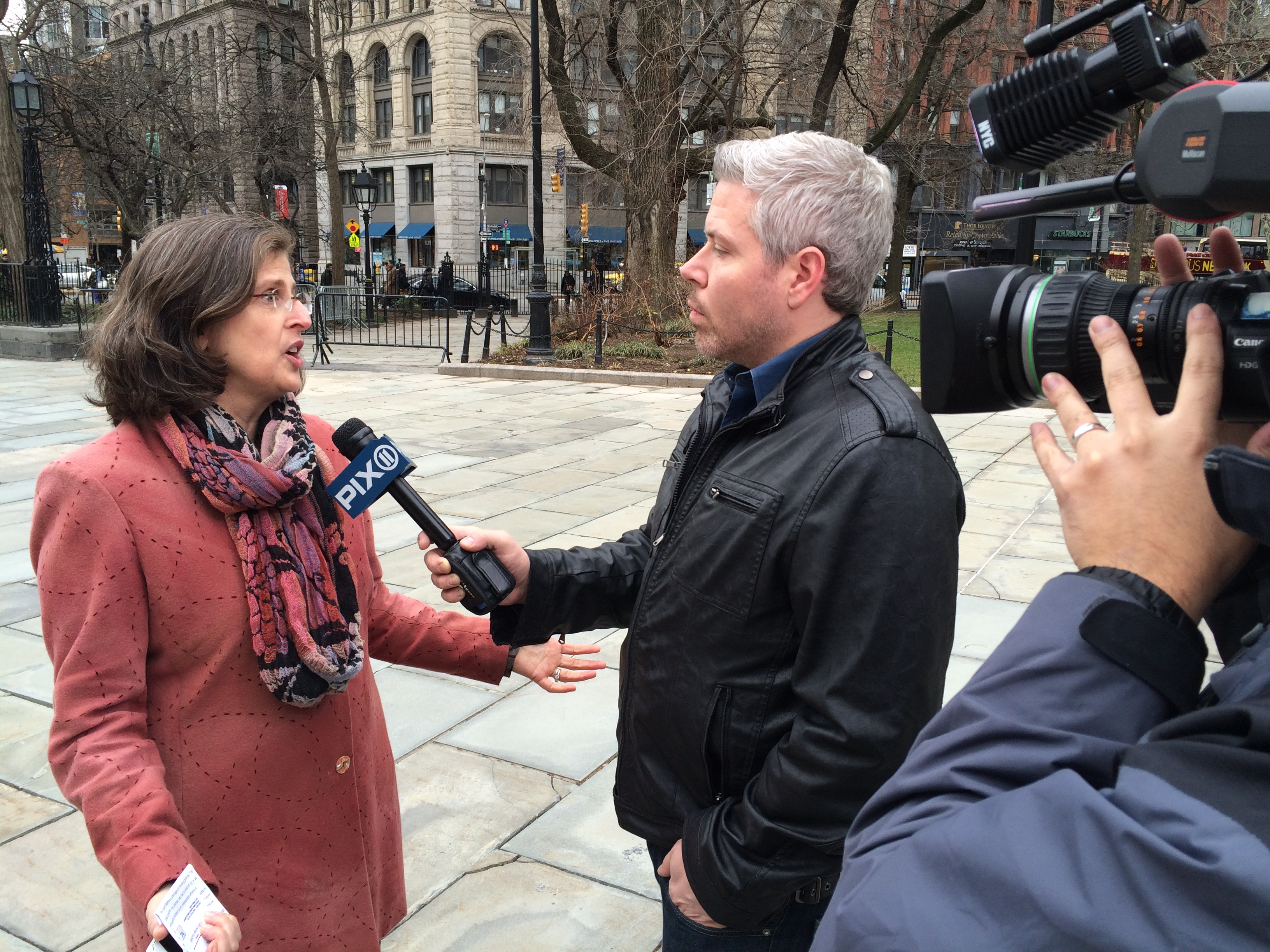 Helen speaks to Pix11 about the need for more funding for crossing guards