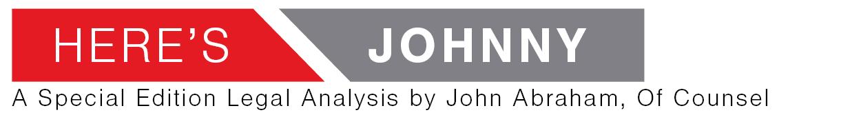 John Abraham Legal Analysis