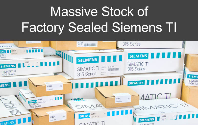 Massive Stock of Factory Sealed Siemens TI