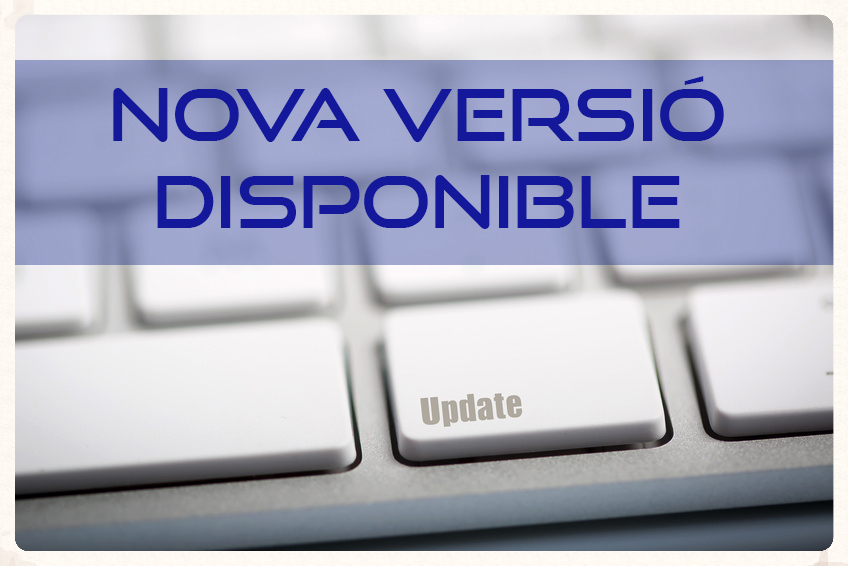 Nova Versió Disponible