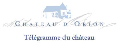 Télégramme du Château d'Orion