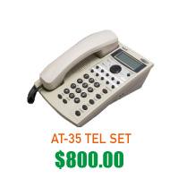 AT-35 TEL SET $800
