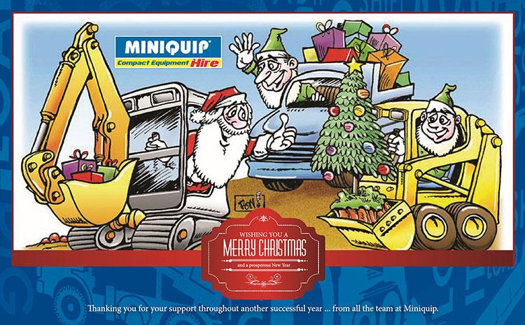 Miniquip wishes you a joyous Holiday Season