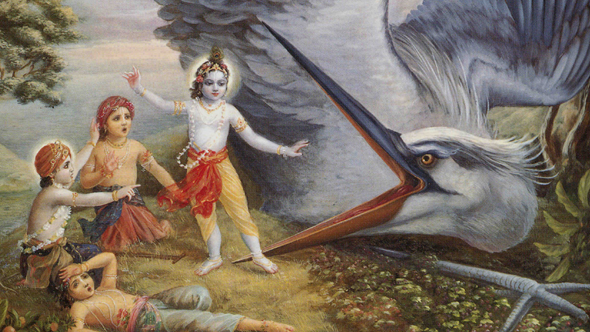Vanquishing the Demons of Vrindavan