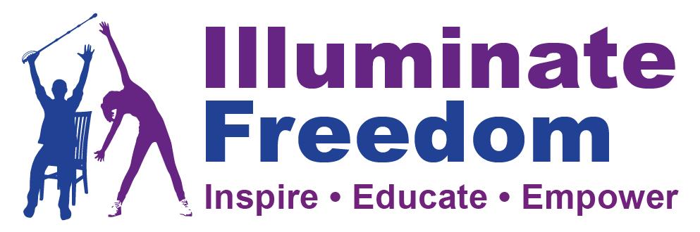 Illuminate Freedom Logo - Inspire, Educate, Empower