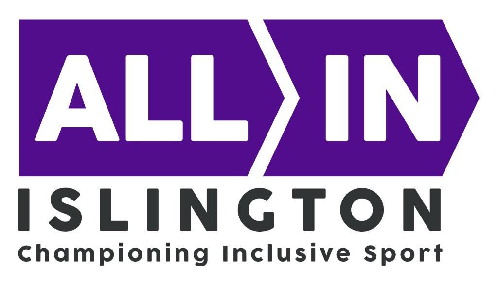 Logo: All in Islington - Championing Inclusive Sport