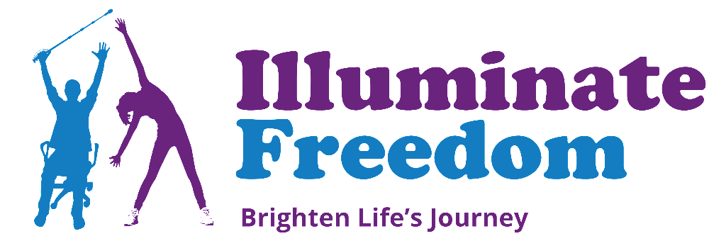 Logo: Illuminate Freedom logo - Brighten Life's Journey