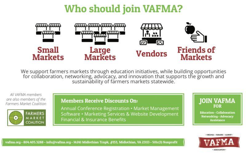 VAFMA Member Benefits