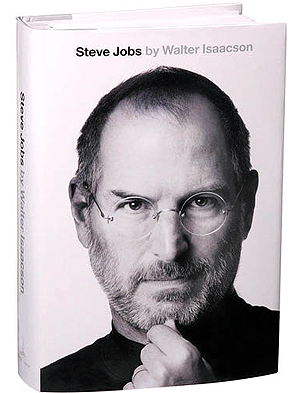 Cover of Walter Isaacson's biography on Steve Jobs