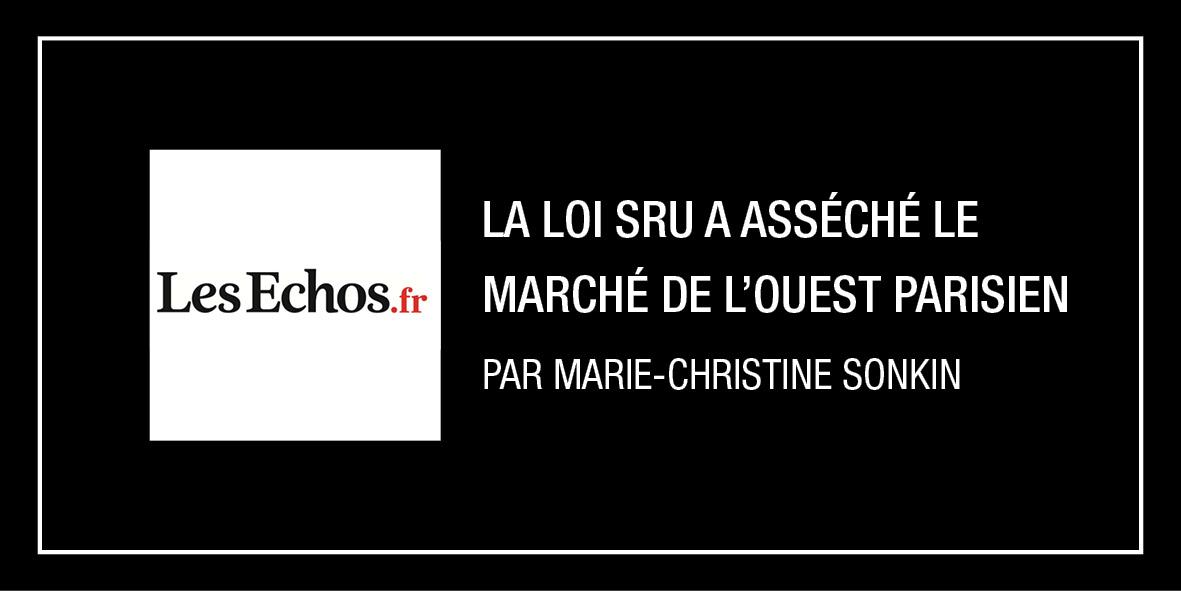 Article Les Echos du 02/01/2020