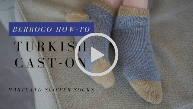 How to Work the Turkish Cast On