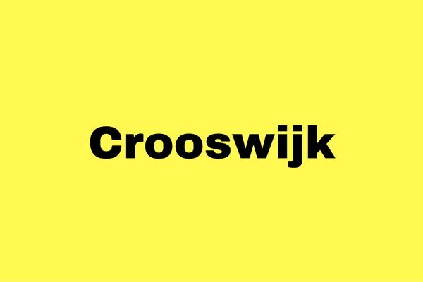 Activiteitenprogramma Crooswijk