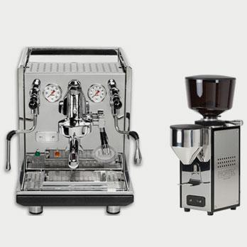 ECM Manufacture Synchronika and Profitec Pro T64