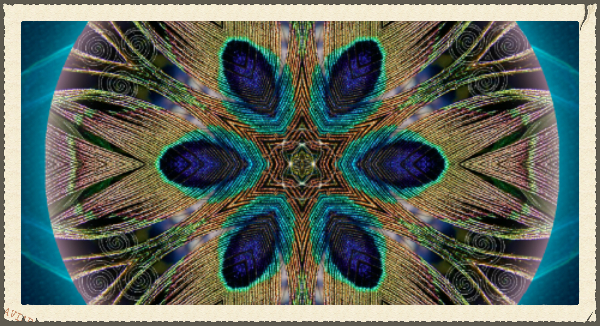 Peacock Power Mandala, Now available on Silk Scarves, Leggings, and Much More!