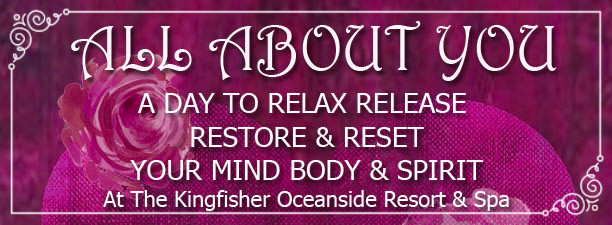 It's All About You! A day to Relax, Release, Restore and Reset. You will begin to Reconnect to Yourself, Reduce Your Stress, Reclaim Your Feminine Power, Release Guilt, Reignite Your Creativity & Intuition, and To Have Fun Again!! Three Experts, One Day, June 3, 2017.