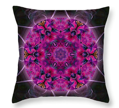 Meditation Mandala Cushion