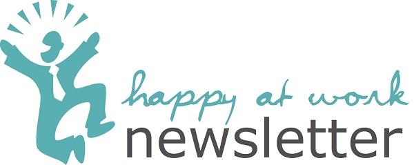 Happy at work newsletter