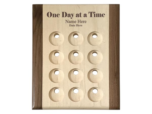 Personalized Medallion Holder Display Plaques