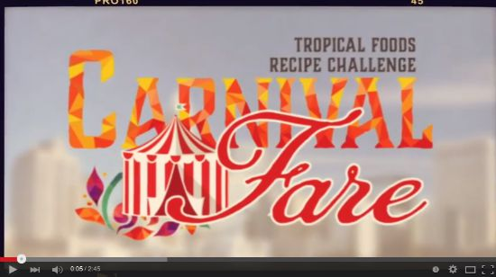 Tropical Foods Carnival Fare Recipe Book video