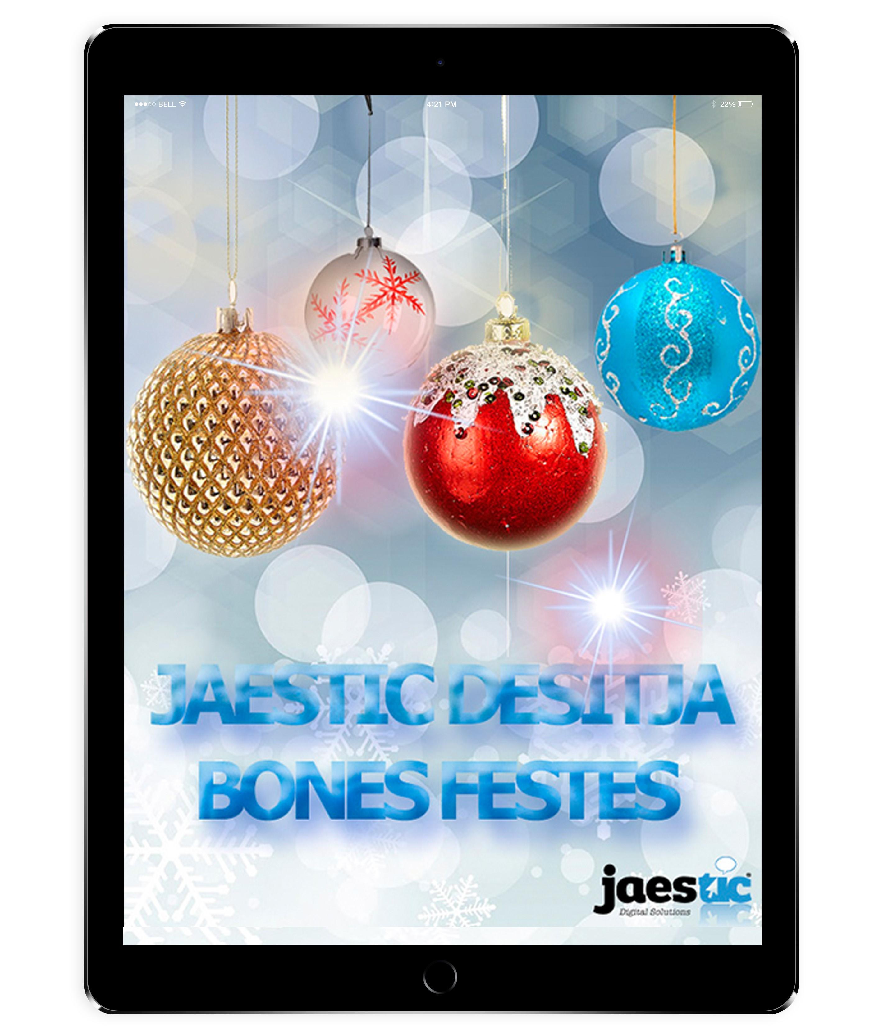 Jaestic te desea Felices Fiestas!!
