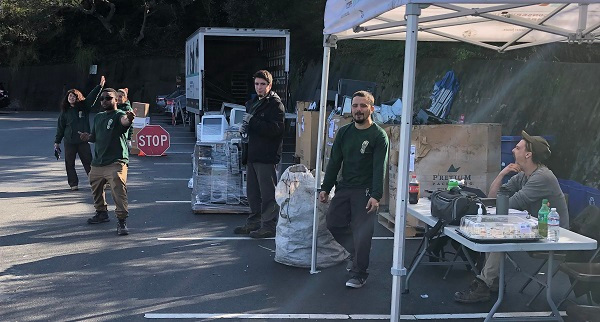 E-Waste Collection Crew