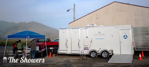 Mobile Shower Trailer