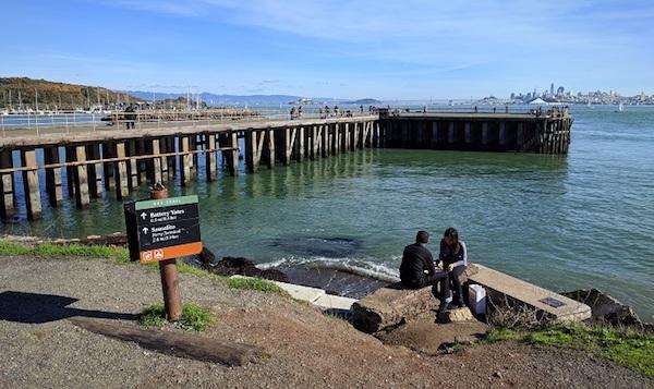 Pier at Fort Baker