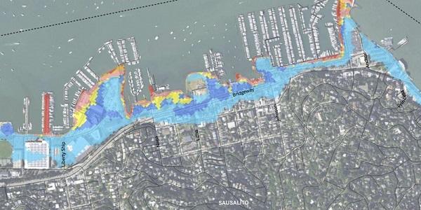 Sea Level Map