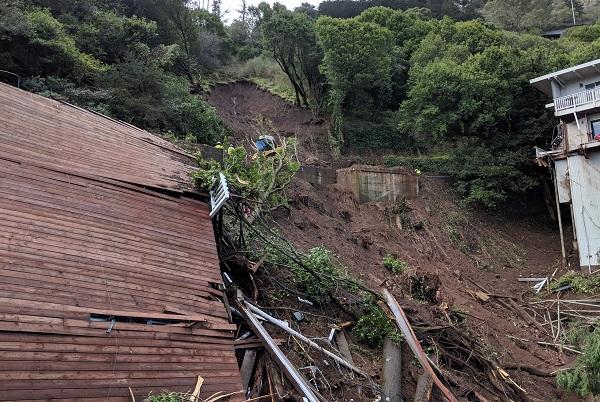 Mudslide and Carport