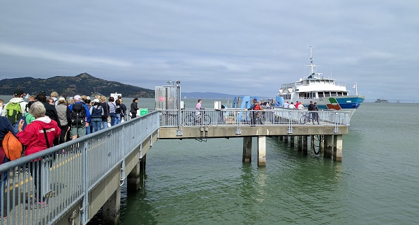 Sausalito ferry landing