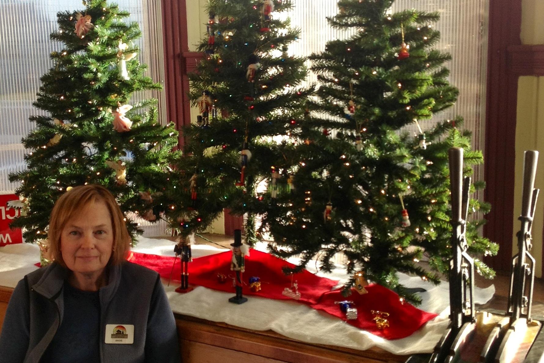 Merry Christmas from Museum Director Angie Deleo and the Castle Rock Museum staff!
