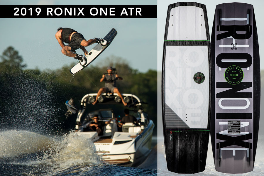 Ronix 2019 One ATR w/ Fuse Stringers Wakeboard
