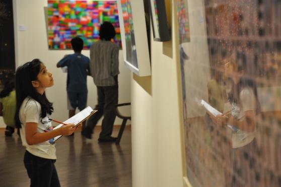 Art Detective at Art Fair