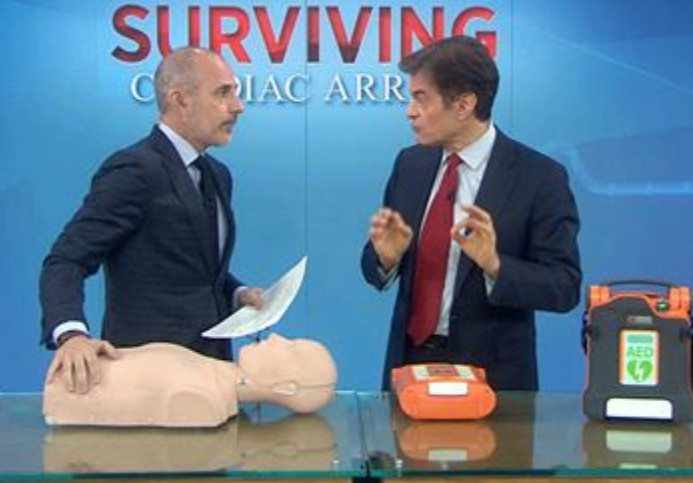 Dr. Oz on Today Show