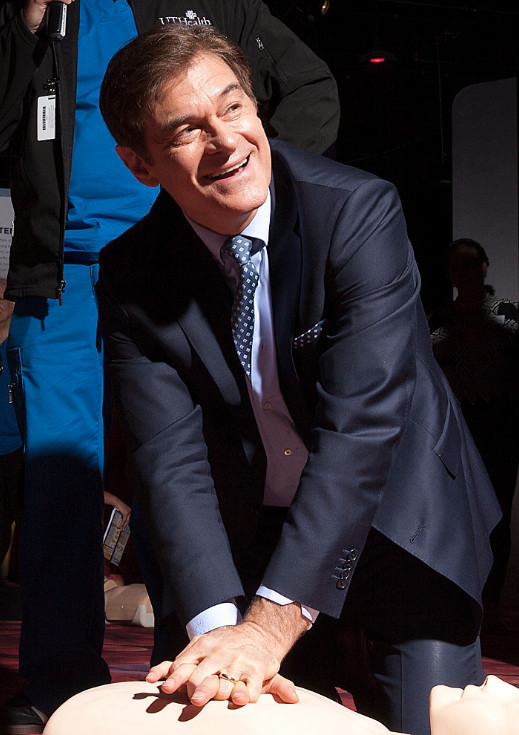 Dr. Oz at Texas Two-Step Event