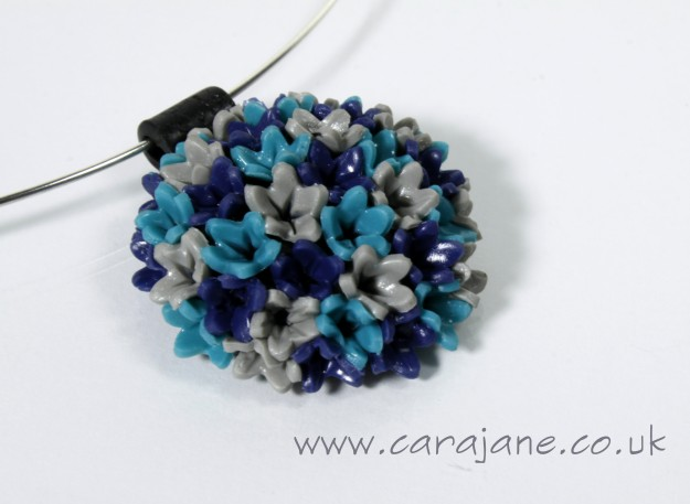 Cara Jane Ball of Flowers Pendant