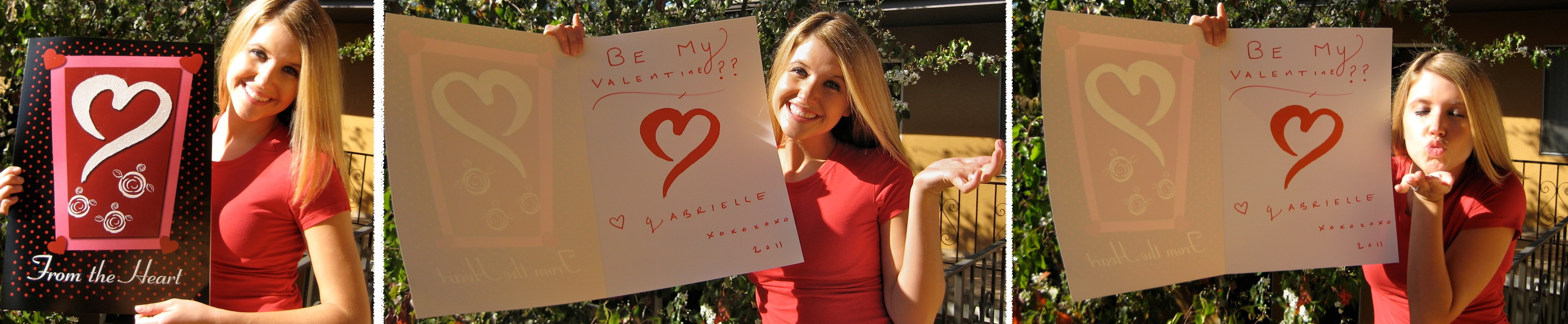 Gabrielle Sweetheart Campaign