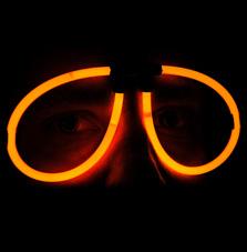 Svítící brýle 1 ks