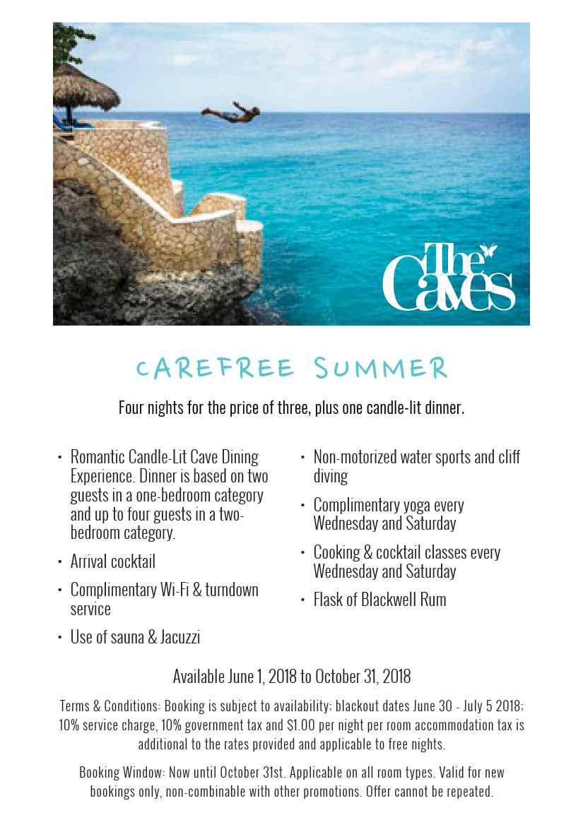 Carefree Summer - Four Nights for the Price of Three