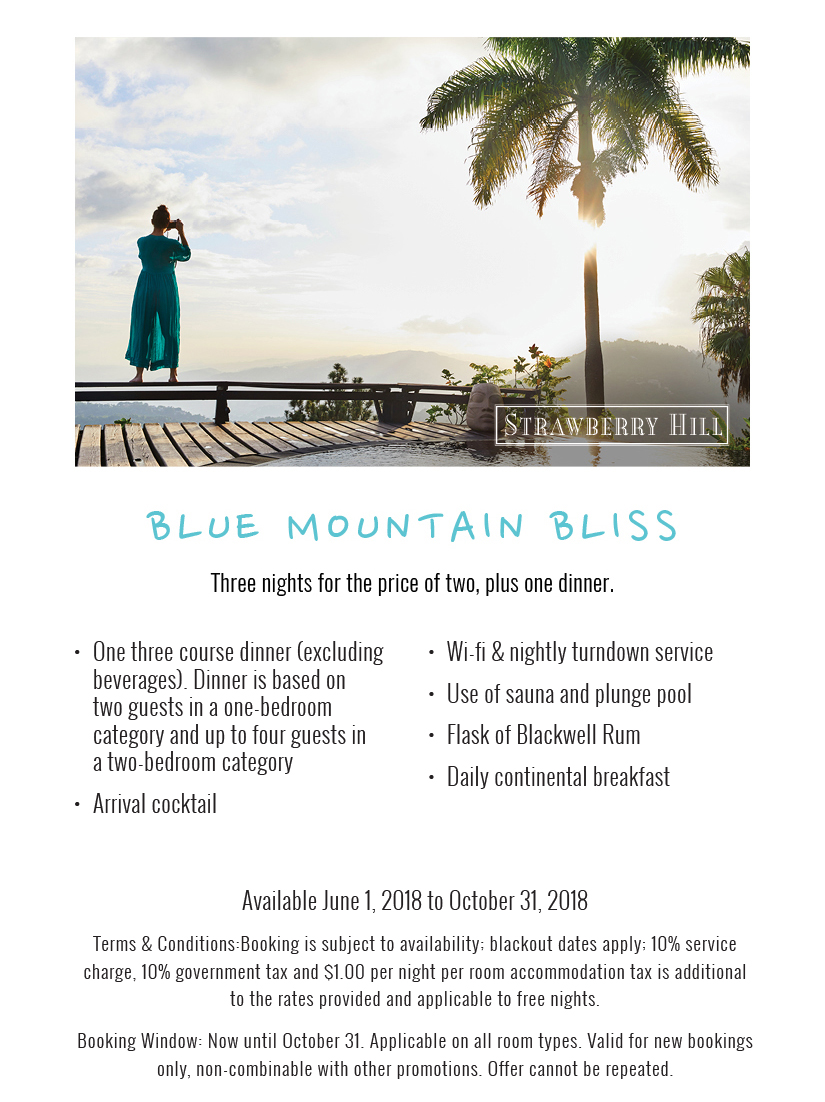 Blue Mountain Bliss - Three Nights for the Price of Two