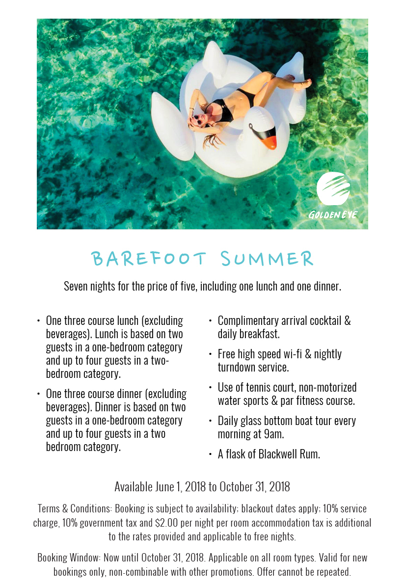 Barefoot Summer - Seven Nights for the Price of Five