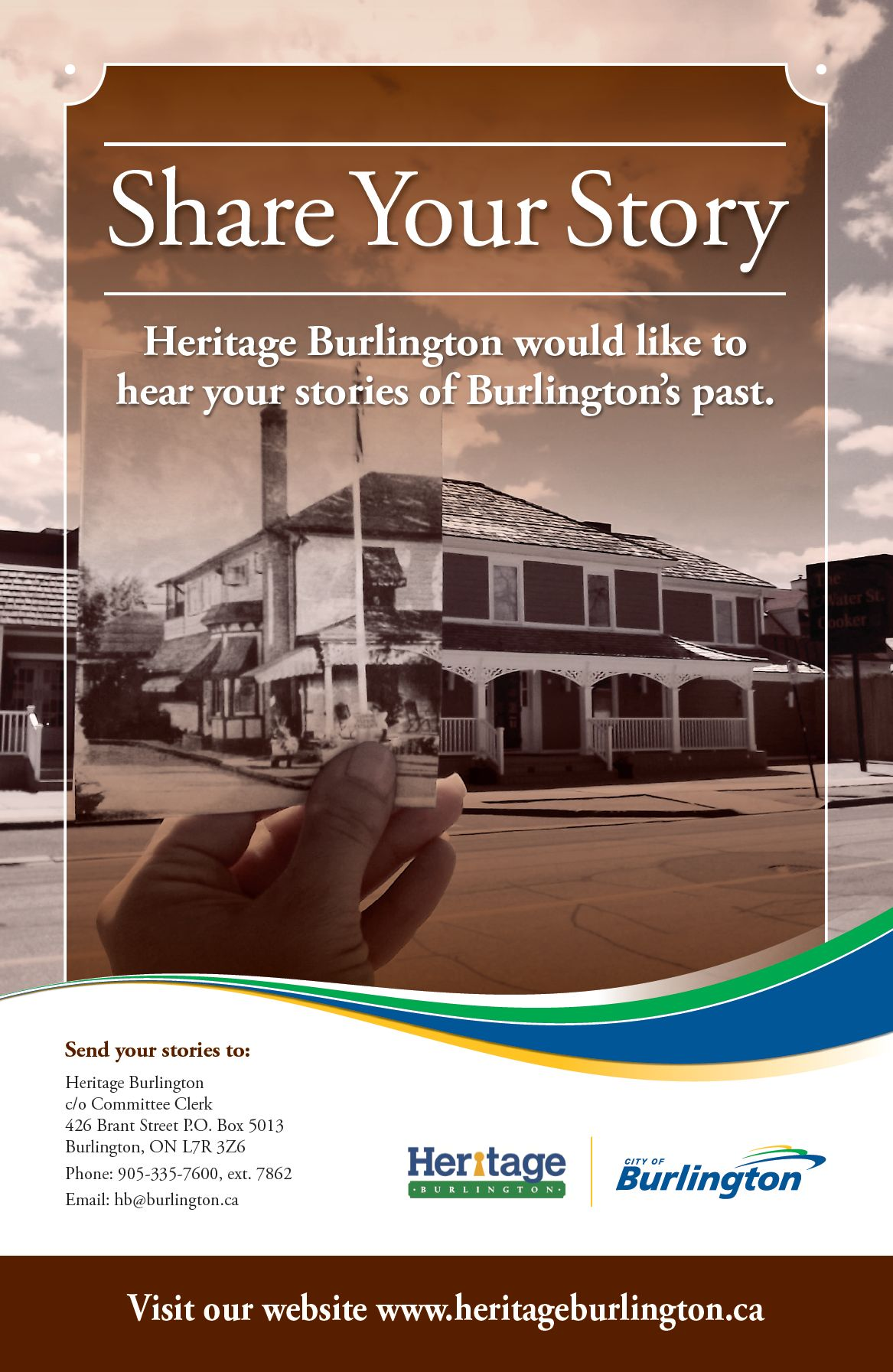 Share your stories about Burlington's history