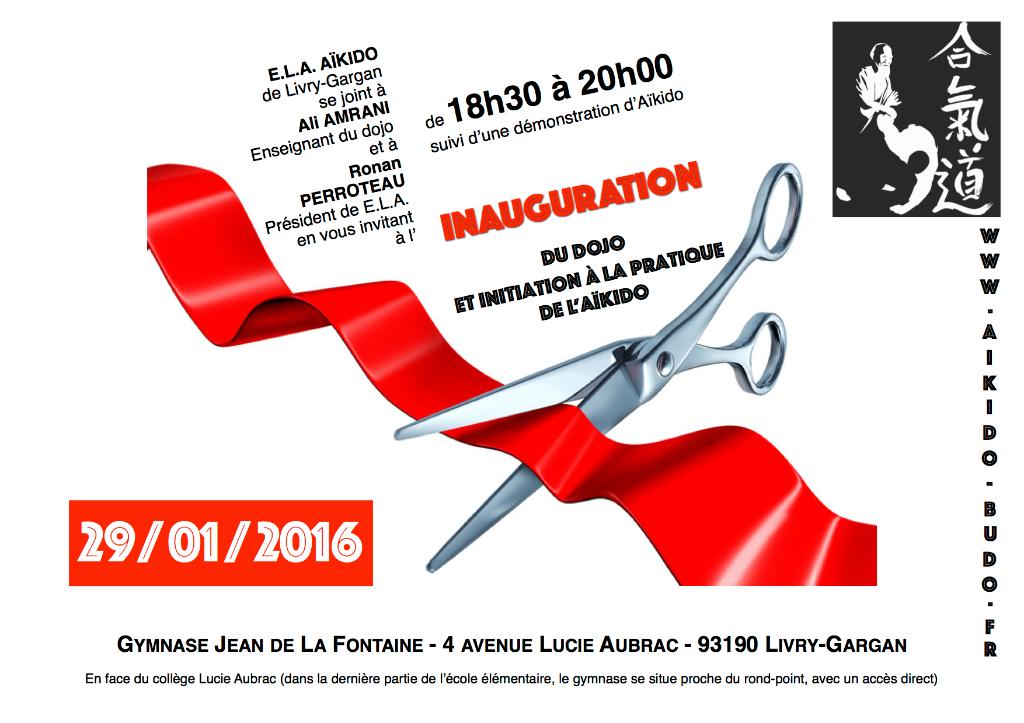 Inauguration ELA AIKIDO - AIKIDO-BUDO