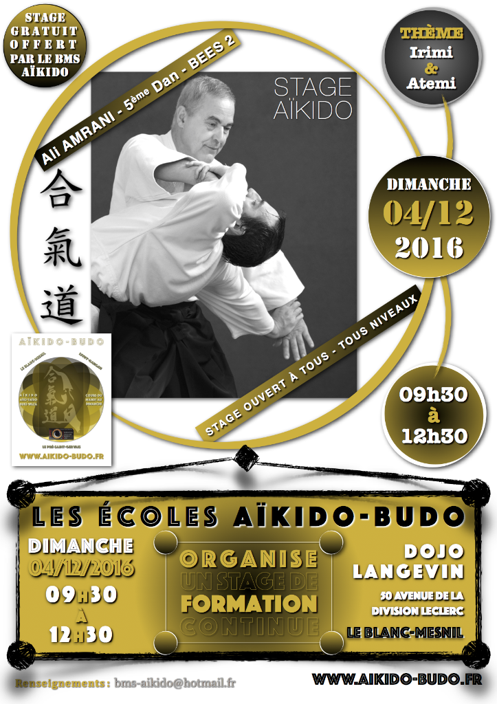 Aïkido - Stage de Formation Continue