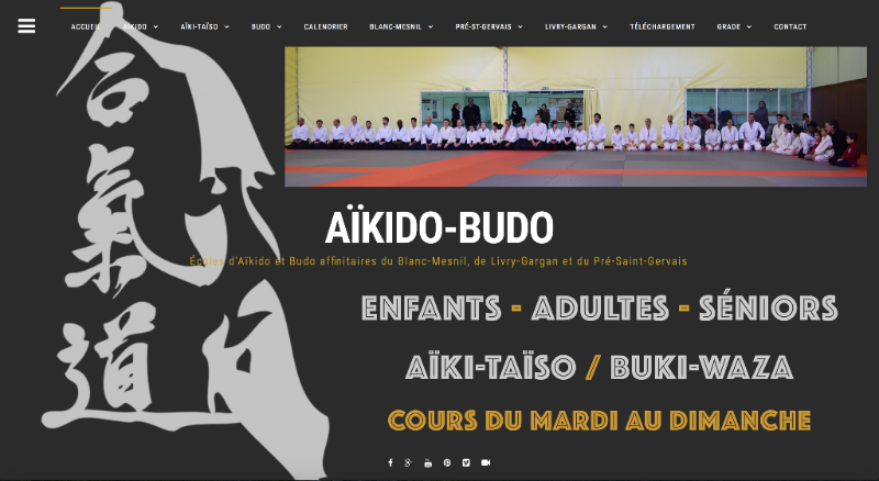 Site Internet AIKIDO-BUDO