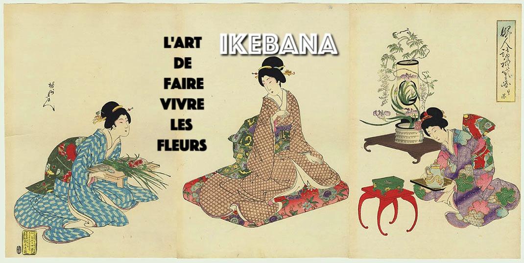 Ikebana - l'art de la composition florale