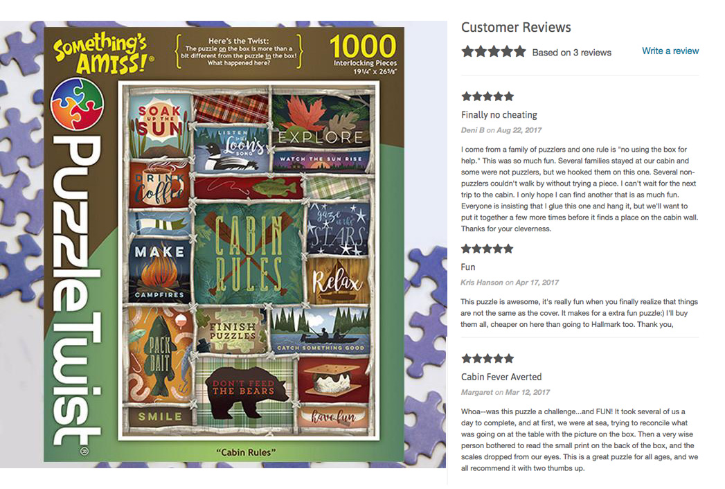 Cabin Rules Reviews