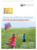 IEP Financial Newsletter - Summer 2013